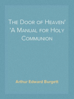 The Door of Heaven A Manual for Holy Communion