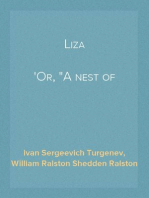 """Liza Or, """"A nest of nobles"""""""
