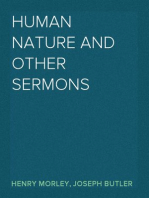 Human Nature and Other Sermons