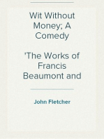 Wit Without Money; A Comedy