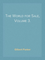 The World for Sale, Volume 3.