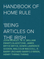 Handbook of Home Rule Being articles on the Irish question