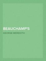 Beauchamp's Career — Volume 1