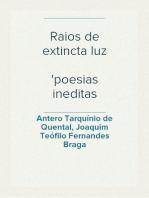Raios de extincta luz poesias ineditas (1859-1863)