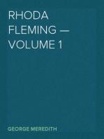 Rhoda Fleming — Volume 1