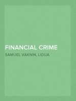 Financial Crime and Corruption