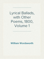 Lyrical Ballads, with Other Poems, 1800, Volume 1