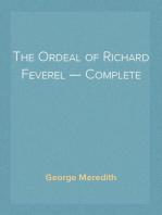 The Ordeal of Richard Feverel — Complete