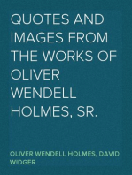 Quotes and Images From the Works of Oliver Wendell Holmes, Sr.