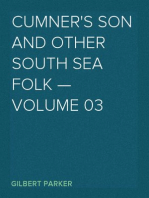 Cumner's Son and Other South Sea Folk — Volume 03