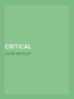 Critical Miscellanies (Vol. 3 of 3) Essay 6