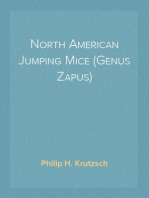 North American Jumping Mice (Genus Zapus)