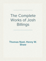 The Complete Works of Josh Billings