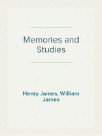 Memories and Studies