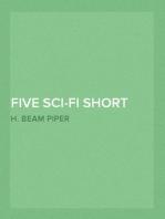 Five Sci-Fi Short Stories