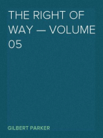 The Right of Way — Volume 05
