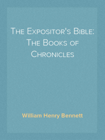 The Expositor's Bible: The Books of Chronicles