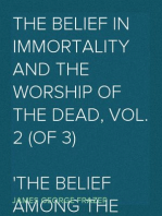 The Belief in Immortality and the Worship of the Dead, Vol. 2 (of 3) The Belief Among the Polynesians