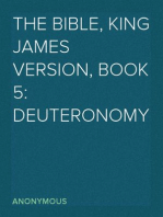 The Bible, King James version, Book 5