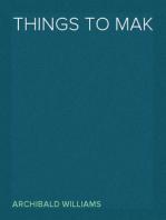 Things To Make