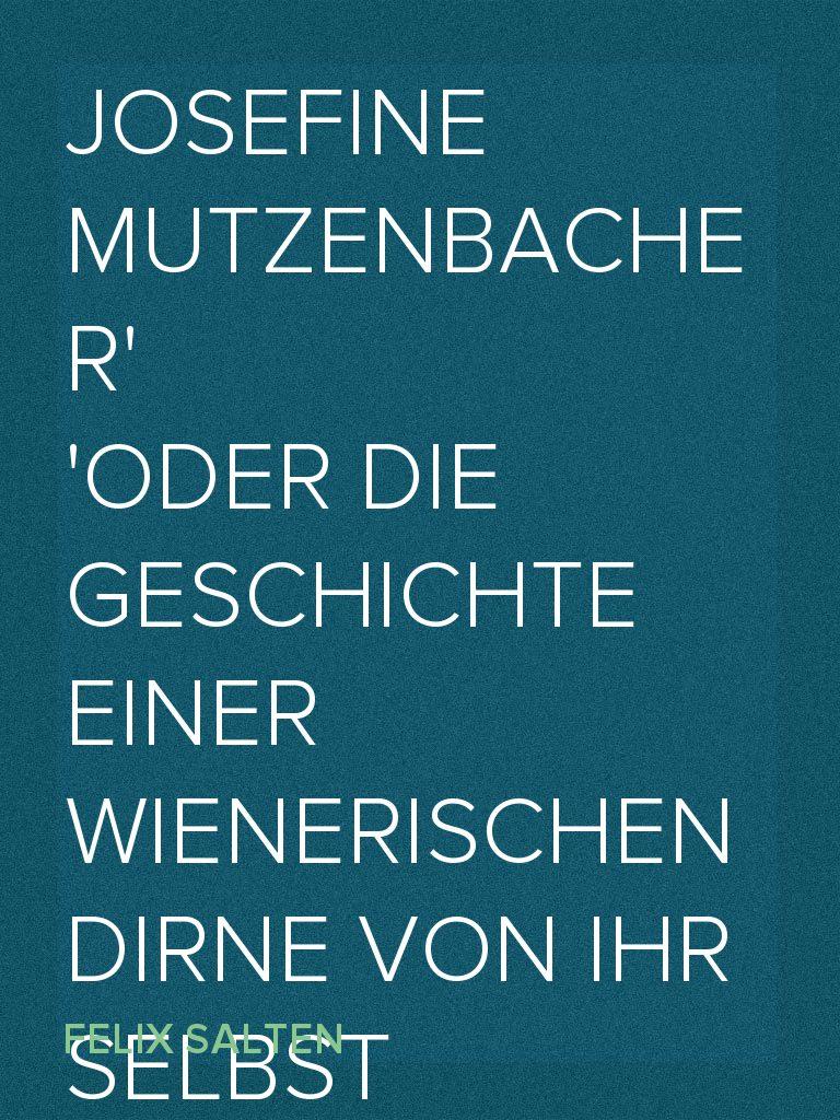 Die Mutzenbacher