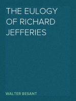 The Eulogy of Richard Jefferies