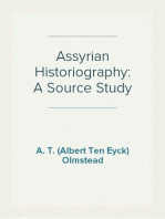 Assyrian Historiography: A Source Study