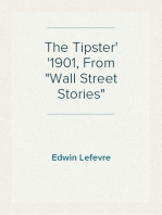 """The Tipster 1901, From """"Wall Street Stories"""""""