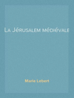 La Jérusalem médiévale