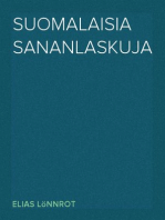 Suomalaisia sananlaskuja