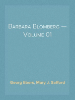 Barbara Blomberg — Volume 01