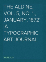 The Aldine, Vol. 5, No. 1., January, 1872 A Typographic Art Journal