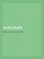 Quelques écrivains français Flaubert, Zola, Hugo, Goncourt, Huysmans, etc.