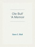 Ole Bull A Memoir