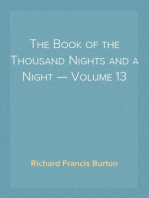The Book of the Thousand Nights and a Night — Volume 13