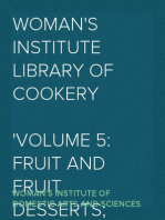 Woman's Institute Library of Cookery Volume 5