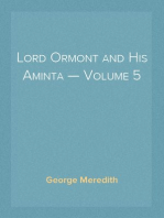 Lord Ormont and His Aminta — Volume 5