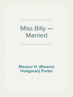 Miss Billy — Married