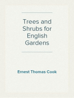 Trees and Shrubs for English Gardens