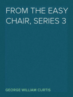 From the Easy Chair, series 3