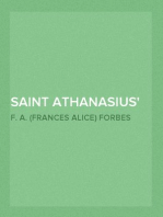 Saint Athanasius The Father of Orthodoxy