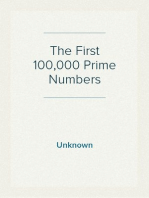 The First 100,000 Prime Numbers