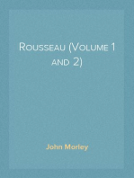 Rousseau (Volume 1 and 2)