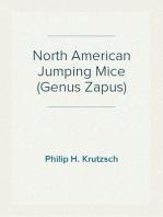North American Jumping Mice (Genus Zapus)