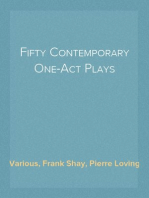 Fifty Contemporary One-Act Plays