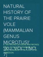 Natural History of the Prairie Vole (Mammalian Genus Microtus) [KU. Vol. 1 No. 7]