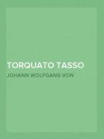 Torquato Tasso Ein Schauspiel