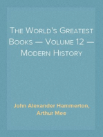 The World's Greatest Books — Volume 12 — Modern History