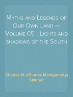 Myths and Legends of Our Own Land — Volume 05