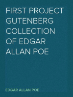 First Project Gutenberg Collection of Edgar Allan Poe